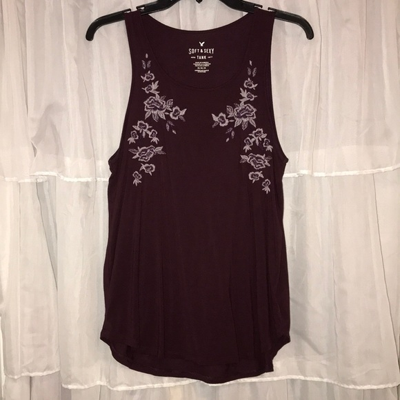 American Eagle Outfitters Tops - Purple tank top